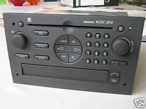 REPARATUR DEFEKT OPEL RADIO CD OMEGA NAVI SIGNUM NCDC 2013 2015