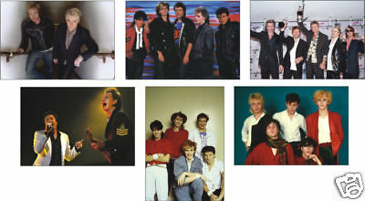 Duran Duran Supergroup Great 6 Card POSTCARD Set