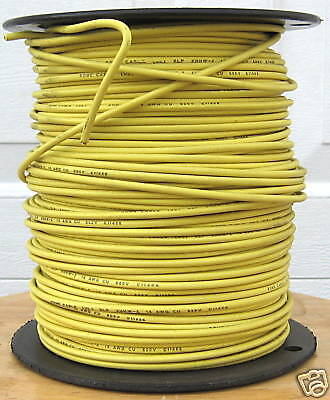 Xhhw-2 500 Ft. 14 Awg Stranded Copper Wire - Yellow