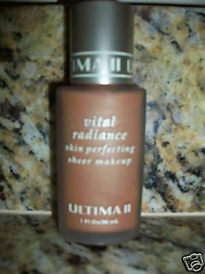 Ultima Ii Vital Radiance Perfecting Sheer Makeup Nutmeg
