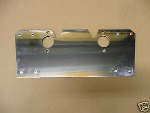 MGA 1500cc 1600cc SU Carburetter Heatshield STAINLESS PART NUMBER AHH5533ss