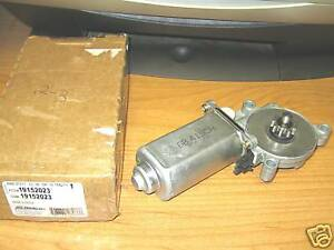 Nos gm delco 1984 1996 chevrolet corvette 1988 1999 truck for 1984 corvette window regulator