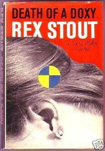 DEATH-OF-A-DOXY-Rex-Stout-Nero-Wolfe-1st-US-DJ