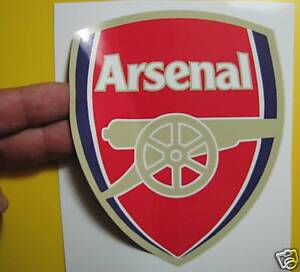 LOT-OF-5-SOCCER-DECAL-STICKER-ENGLISH-PREMIER-ARSENAL-4-5-X-5