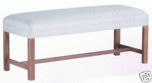 48 Bench Diy Unfinished Furniture Kit Solid Maple Ebay