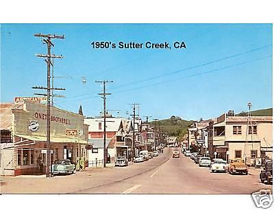 1950's Sutter Creek, Ca / Novelty Pc Magnet
