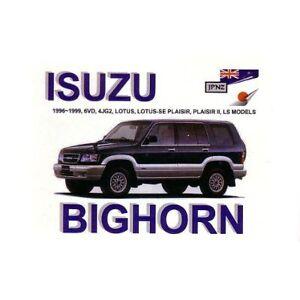 JPNZ-Isuzu-Trooper-Bighorn-96-99-English-Owner-Handbook