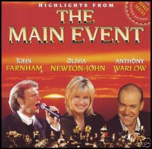 MAIN EVENT CD ~ JOHN FARNHAM / OLIVIA NEWTON JOHN / ANTHONY WARLOW THE *NEW