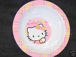 Hello Kitty, Set of 2 Kids Bowls, #1, NEW