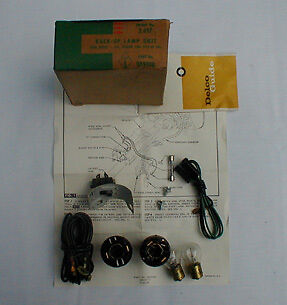 NOS 1964 EL CAMINO+STATION WAGON BACKUP LAMP KIT 985908