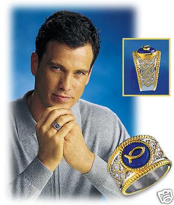 Symbol Of Faith Men's Ring - Size 14 - Franklin Mint