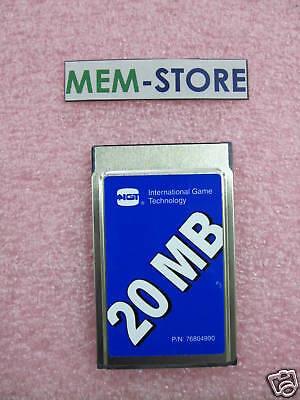 20mb Pcmcia Ata Flash Card Sm9flata20tigt