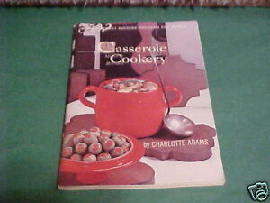1966-BOOK-CASSEROLE-COOKERY-CHARLOTTE-ADAMS
