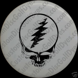 Disc Golf Custom Dye Stencil - Grateful Dead (2 Pack)