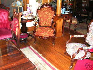 large-antique-rosewood-belter-arm-chair-pierced-carved