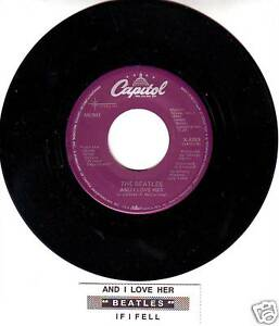BEATLES-And-I-Love-Her-RARE-RARE-45-rpm-7-VINYL-RECORD-BRAND-NEW