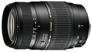 Tamron AF 70-300 mm F/4-5,6 Di LD 70-300mm für Canon EOS 550D 600D 1100D 60D
