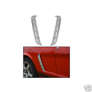 1965 ford mustang coupe convertible quarter panel ornaments ebay. Black Bedroom Furniture Sets. Home Design Ideas
