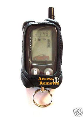 Avital 4400 / 5303 ((leather Remote Case)) Lcd 477l