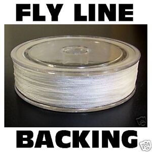 Dacron 100m 30lb fly line backing for fishing rod reel ebay for Fly fishing backing