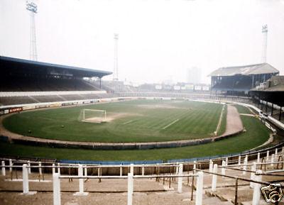 Chelsea 1970's Stamford Bridge Ground COLOUR 10x8 Photo