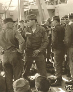 Elvis Presley In The Army Never Seen Before 1958 On Ship To Germany Unpublished