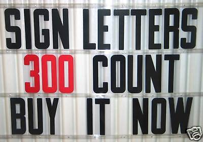 8 Outdoor Portable Marquee Changeable Sign Letters 300