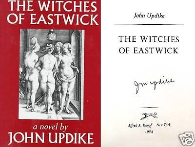 John Updike Signed Witches Of Eastwick 1st/1st Hc