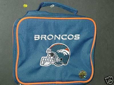Nfl Embroidered Lunch Bag, Denver Broncos,