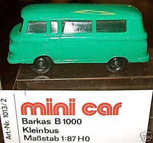Barkas B 1000 grün mini car OVP 1//87     å