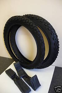 PAIR OF 16X1.75 CYCLE/BIKE TYRES AND TUBES NEW
