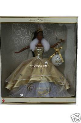 Barbie 2000 Holiday Celebration Barbie Aa Doll