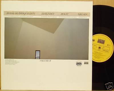 LP Aulos Bläserquintett 2 Zemlinsky Holst Nielsen NM