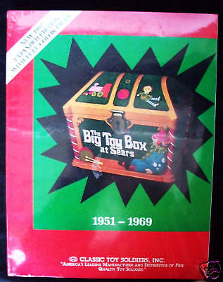 Sears Big Toy Box Christmas Catalog 1951-69 Boys Toys,toy Soldiers,slot Cars++