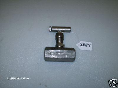 Anderson Greenwood Needle Valve H7hs4q02 1/2 S/s (new)