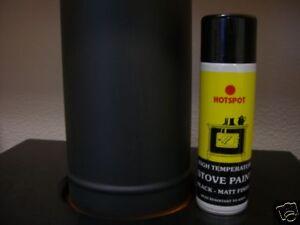 hotspot black stove fire spray paint heat resistant. Black Bedroom Furniture Sets. Home Design Ideas