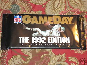 NFL-Gameday-1992-Edition-12-Collector-Cards-sealed