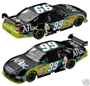 ACTION  # 99 CARL EDWARDS BLACK AFLAC THE DUCK 1/24 CAR WE SHIP WORLDWIDE