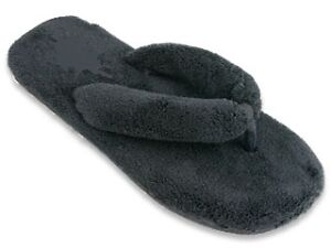 Ladies Slippers Shoe Fuzzy Flip Flop Bedroom Thong Soft Sz 5 11