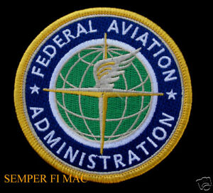 RARE-FEDERAL-AVIATION-ADMINISTRATION-FAA-PATCH-AVIATION-PIN-UP-JACKET-SIZE