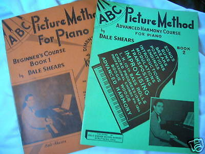 Unique piano course instruction 2 books beginner advanced guided by ear  method for sale  Shipping to India