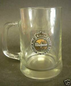 Vintage-WARSTEINER-BEER-GLASS-mug-Germany-stein-bar