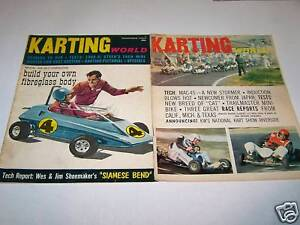 KARTING-WORLD-magazine-collection