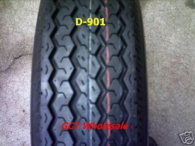 5.70-8 8 Ply Boat Trailer Tire on 4 Hole Wheel