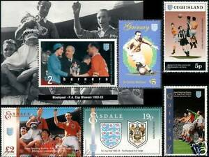 BLACKPOOL-FA-CUP-Football-Stamps-Stanley-Matthews