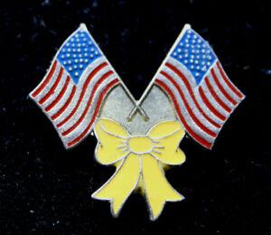 USA-FLAG-YELLOW-RIBBON-PIN-MARINES-NAVY-ARMY-AIR-FORCE