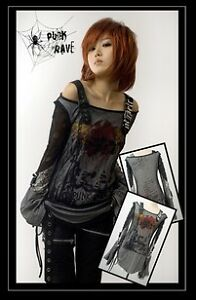 Visual-kei-fashion-cool-punk-gothic-lolita-t-shirt-top