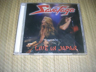 Savatage - Live In Japan Cd Sealed Rare