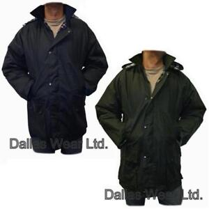 NEW WAXED WAX FISHING HUNTING SHOOTING RAIN JACKET COAT