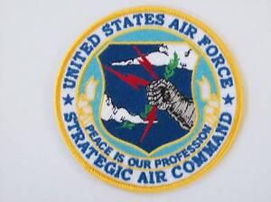 USAF (SAC) US AIR FORCE COMMEMORATIVE VETERAN PATCH